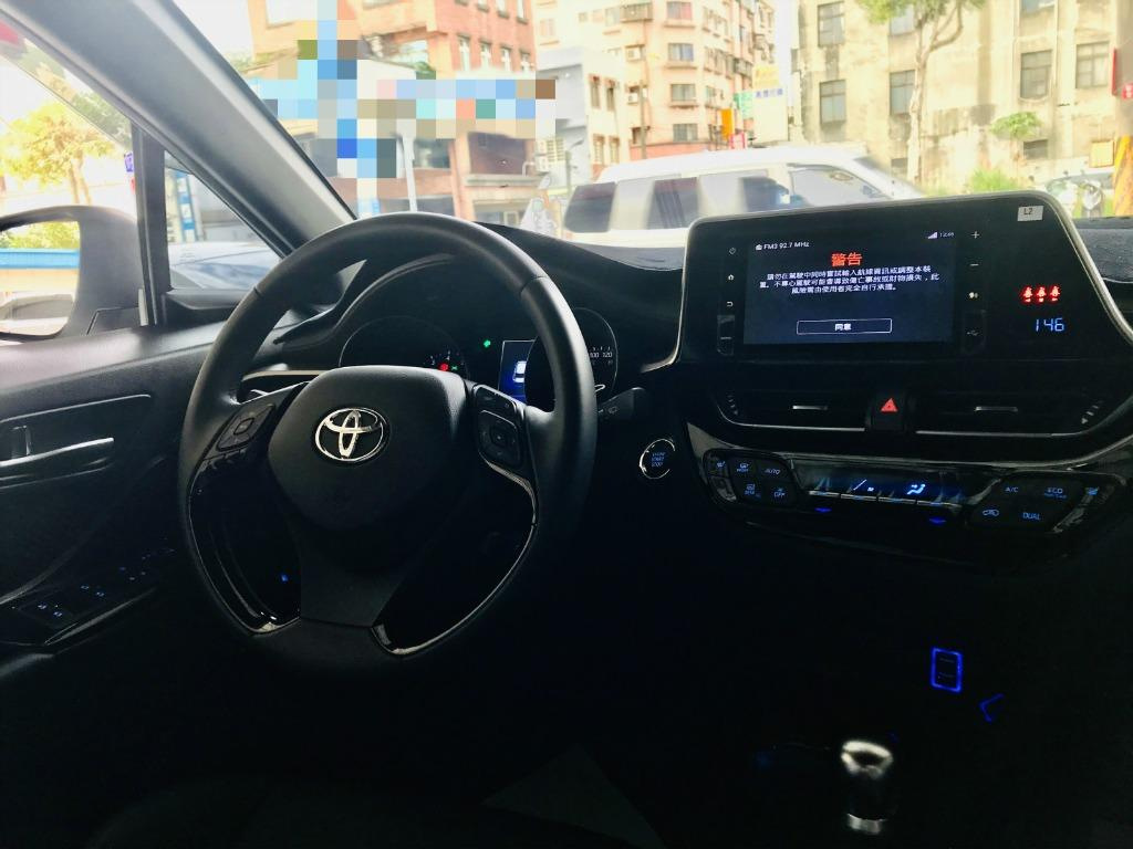 2018 Toyota C-HR AWD 實跑14000km ❗ ✅新車利率 ✅新車保固中 👉買新車不如買這台,省很大 ❗