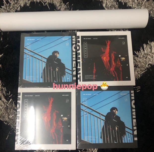 24/12 ARRIVAL - Kim Jaehwan 2nd Mini Album - Moment 💕