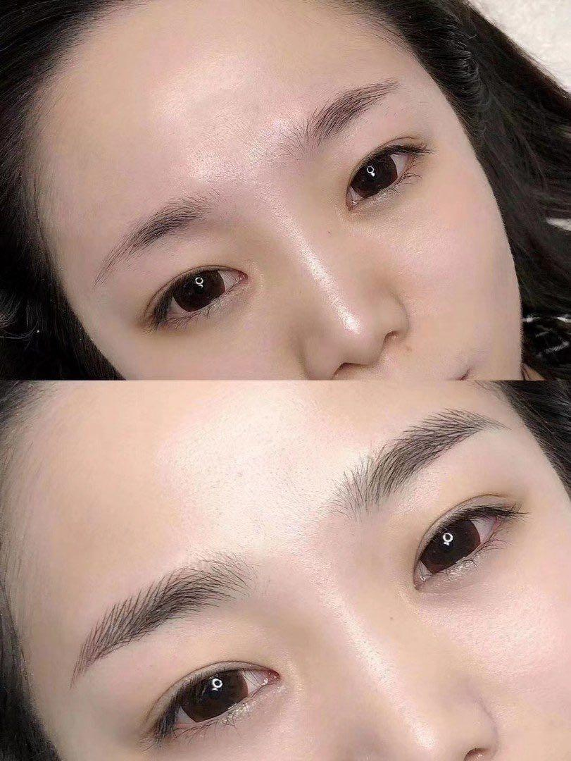 4d eyebrow Embroidery