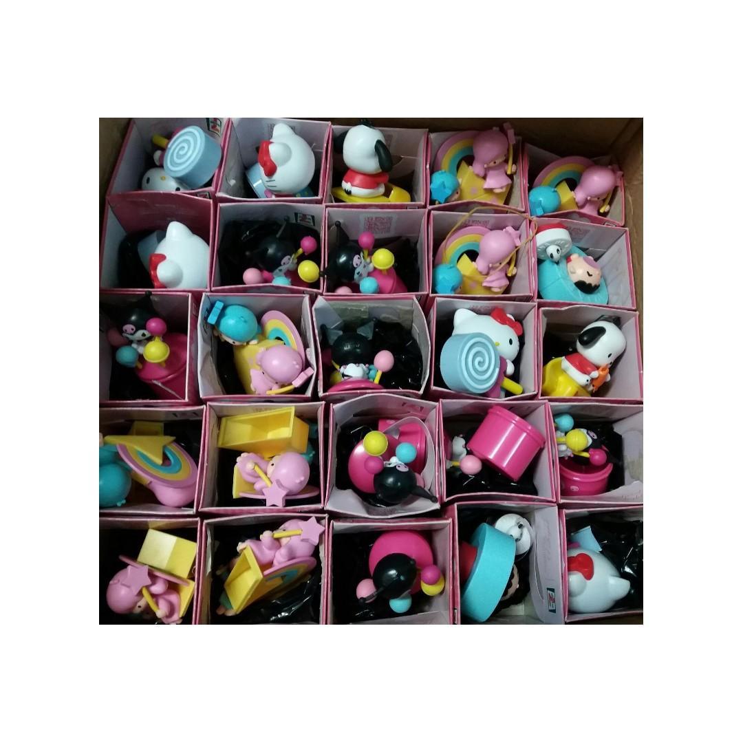 7-11 7-Eleven 絕版 Sanrio 公仔 2012 2013 大口仔 Hello Kitty Little Twin Stars Pochacco Kuromi 擺設 飾品
