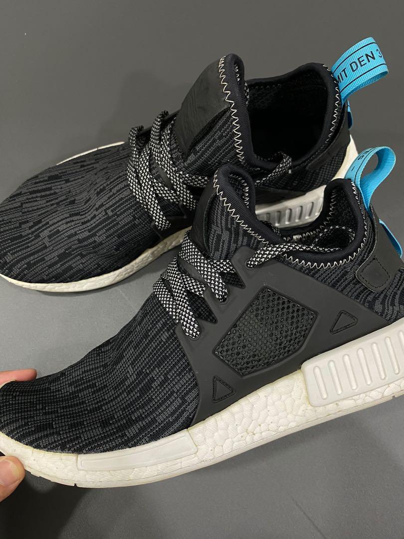 Adidas NMD XR1 PK Glitch Camo Black/Blue