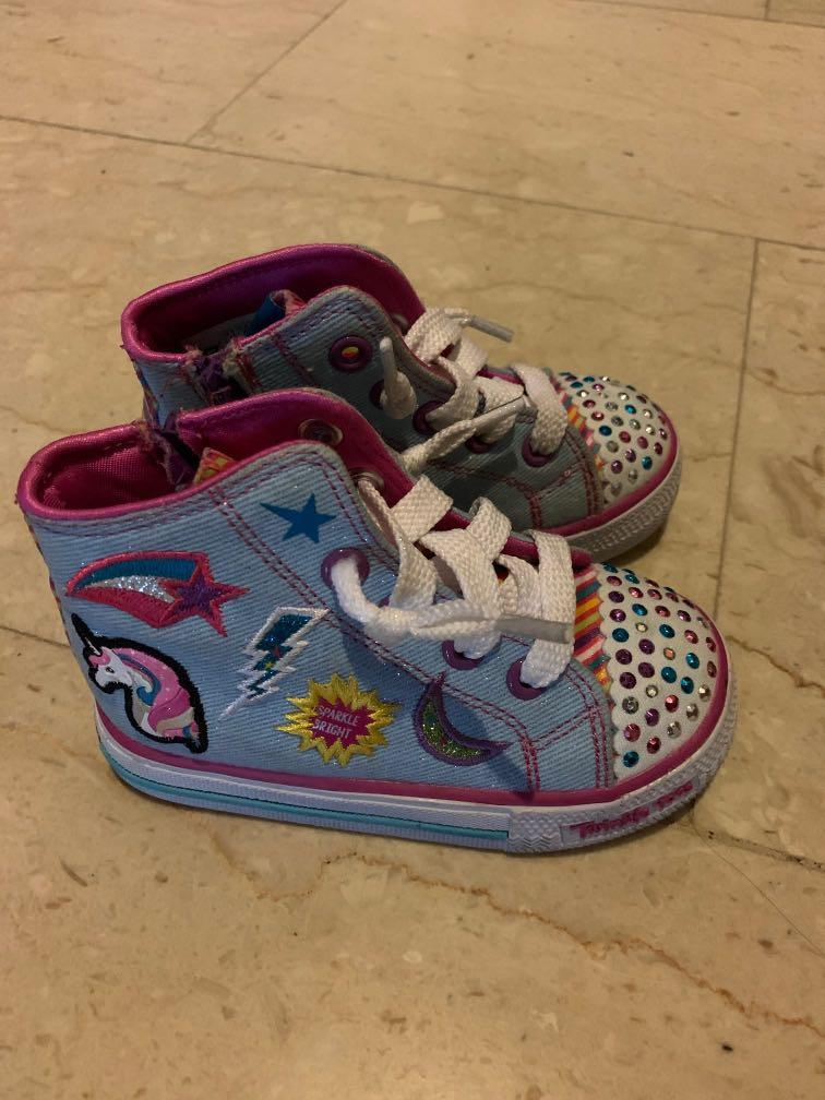 Almost new girl Skechers Shoes with