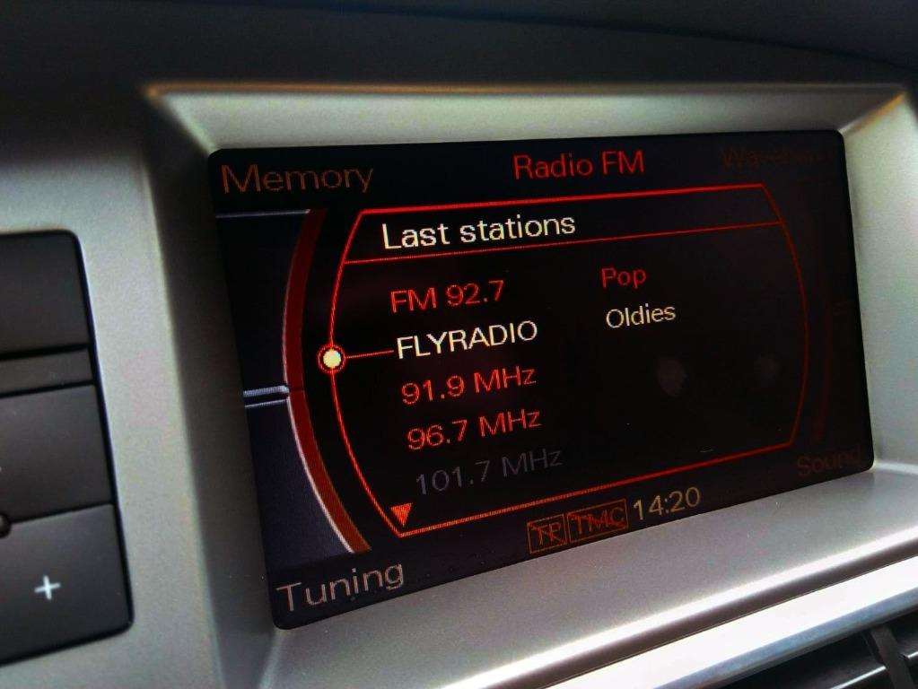 AUDI A6 豪華房車 當油門踩下去的加速性讓人驚豔 超夠力 有渦輪就是不一樣 只跑8萬 里程保證 原廠保養 資料透明 直列四缸