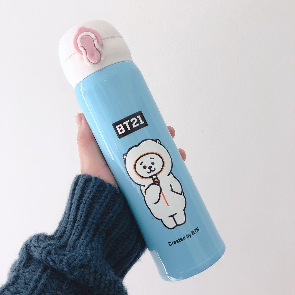 BT21 BTS Thermos Flask / Vacuum Flask / Water Bottle