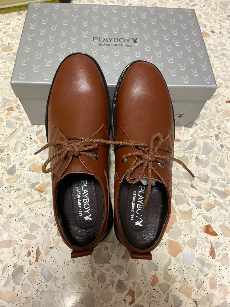 Brand New!Men's leather shoes playboy
