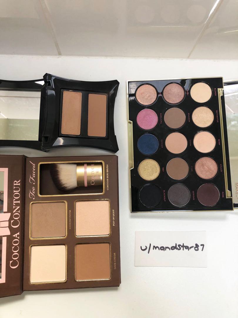 Mixed High End Makeup - NARS, MAC, TOO FACED, URBAN DECAY, BOBBI BROWN, BENEFIT