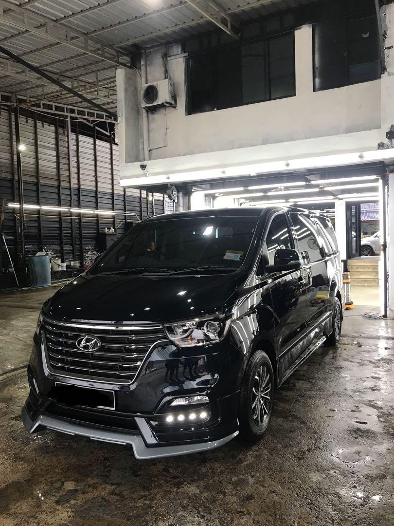 MPV Hyundai Starex Executive Plus 2019 11 Seater/ Chauffer/ Rental/ Tour/ Trip/ Private Hire/ Transport to Malaysia