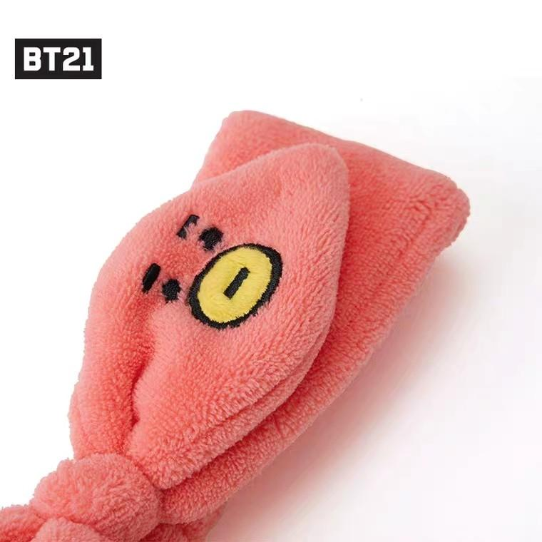 NO EMS bt21 hairband head band bts shower Official
