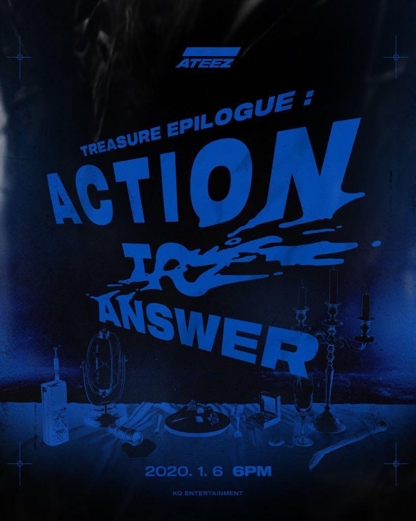 [PREORDER] ATEEZ - TREASURE EPILOGUE : ACTION TO ANSWER