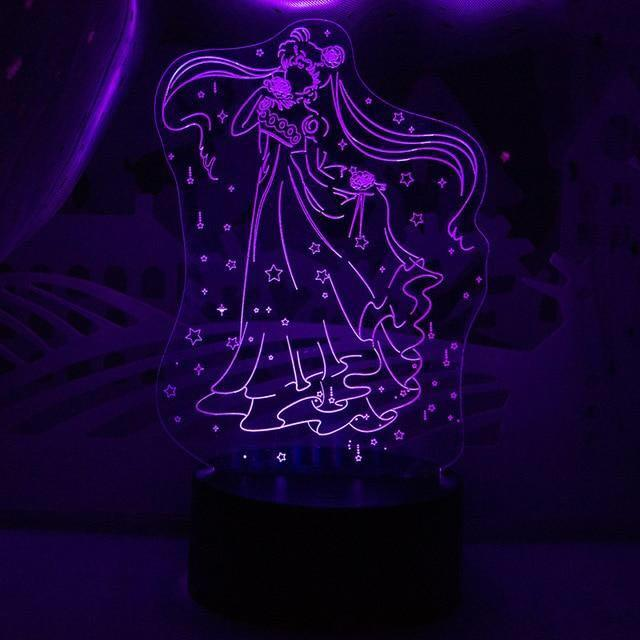 [Sailormoon] Used-Tsukino Usagi Decoration LED Lamp