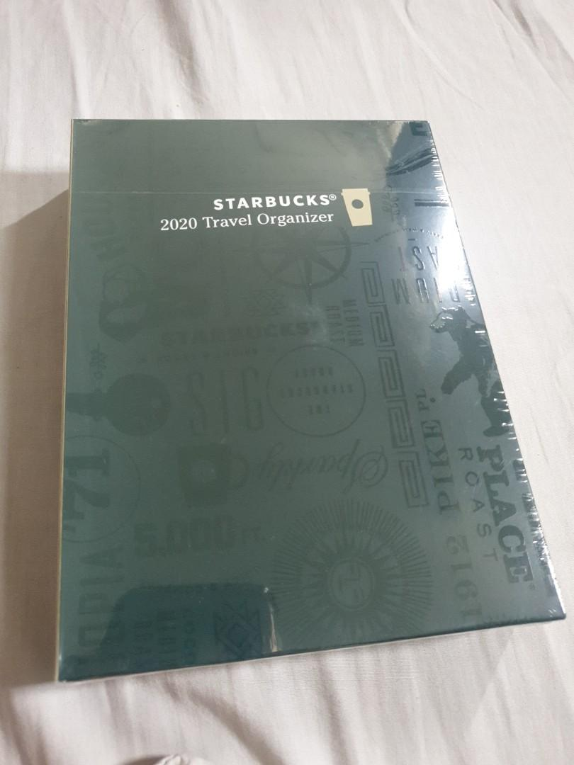 Selling NEW BOXED AND SEALED Starbucks Travel Organizer 2020 edition Coffee