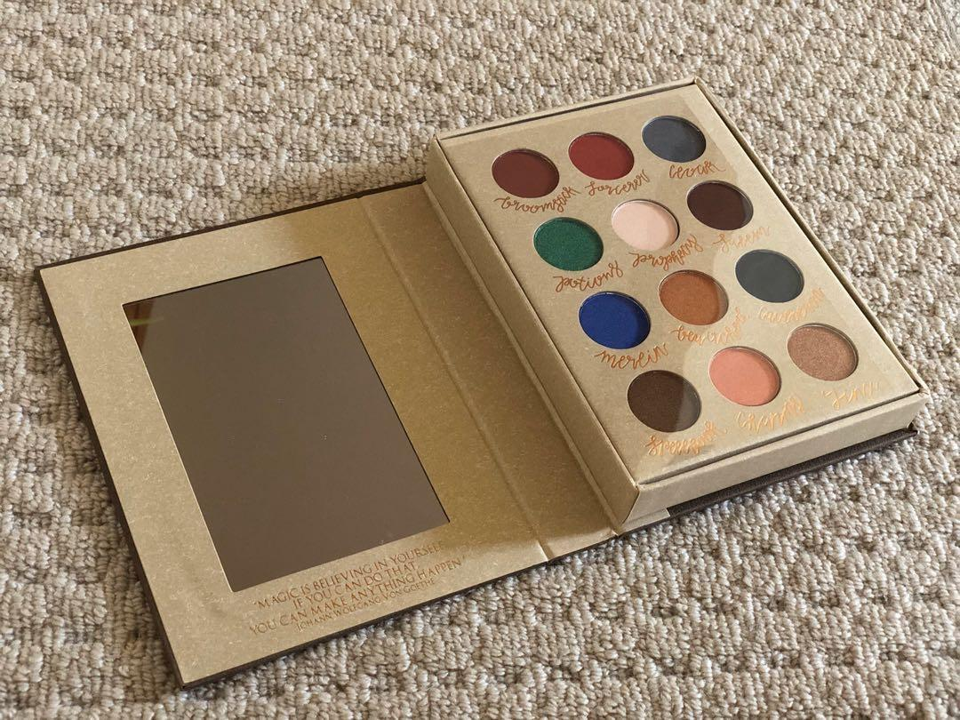 Storybook Cosmetics - Wizardry and Witchcraft Eyeshadow Palette