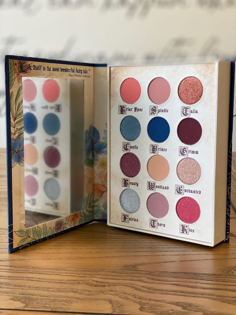 Storybook Cosmetics Little Briar Rose Eyeshadow Palette