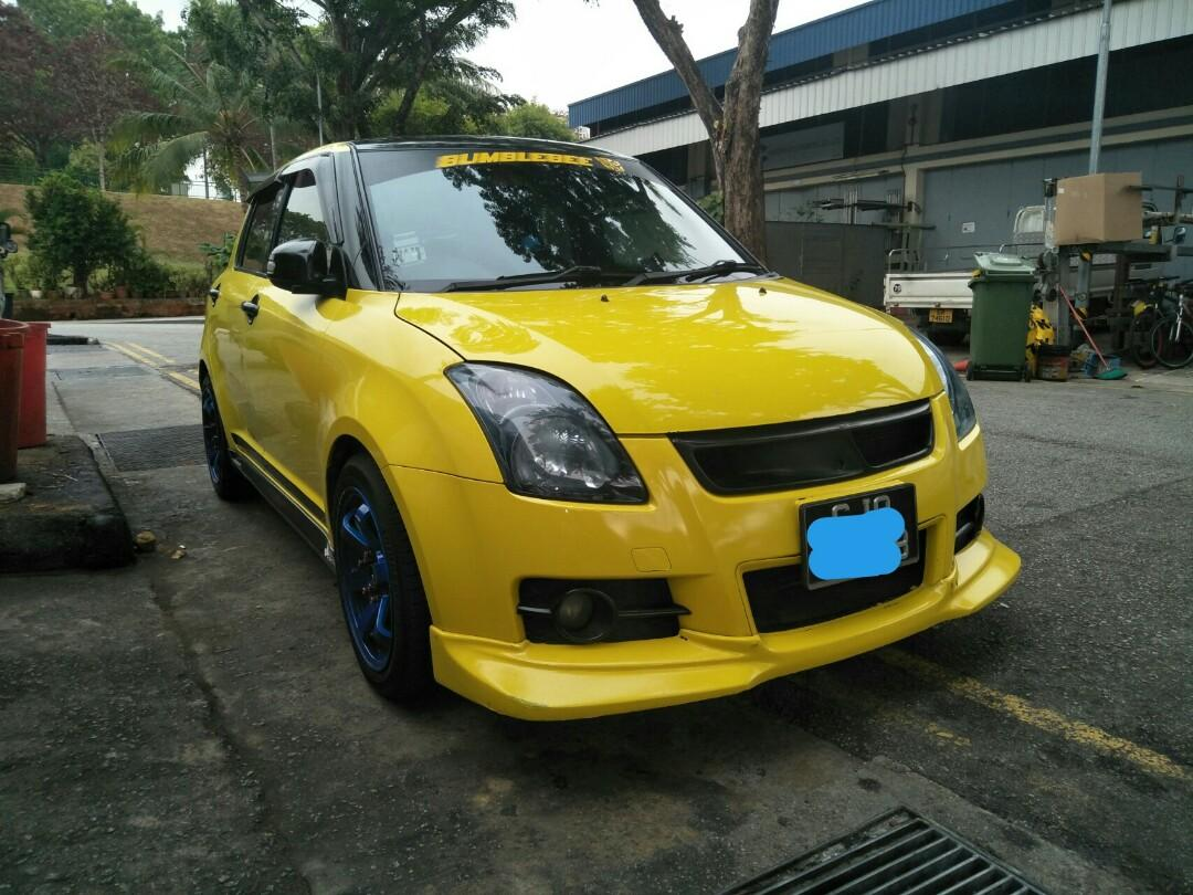 Suzuki Swift sport rent