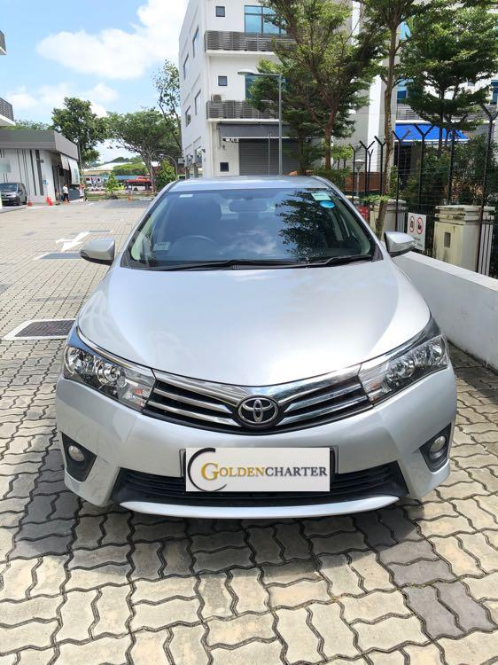 Toyota Altis 2015 For Rent! Weekly Gojek Rebate ! Personal rent!