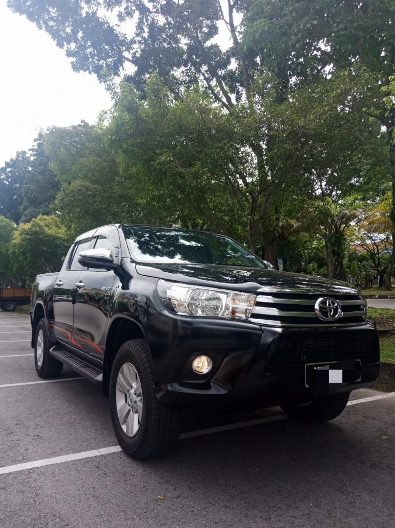 Toyota Hilux 2.4 (A) 4x4 Pickup Truck Offroad Sewa Selangor KL