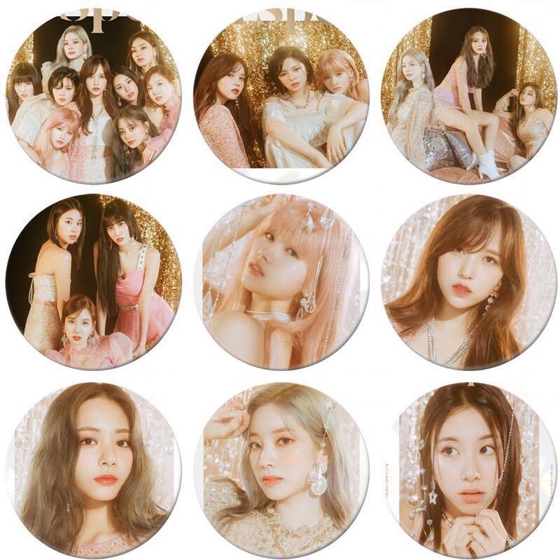 TWICE 8th Mini Album Feel Special Round Badge / Pin