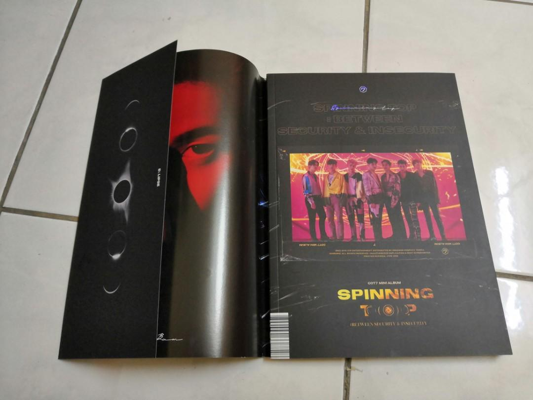 [WTS] GOT7 - SPINNING TOP : BETWEEN SECURITY AND INSECURITY ALBUM