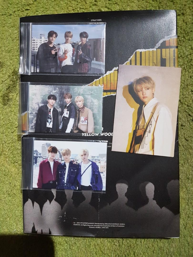[WTS] Stray Kids Clé 2 : Yellow Wood (Limited Edition)