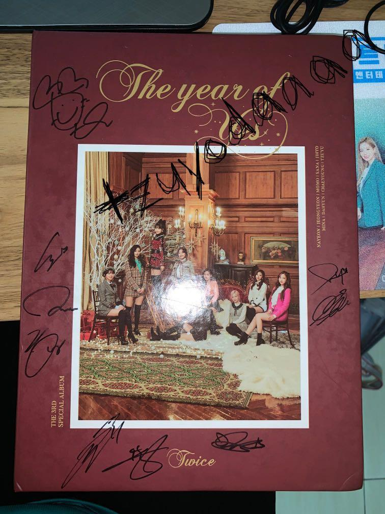 WTS TWICE all-member signed The Year of Yes album ver 2