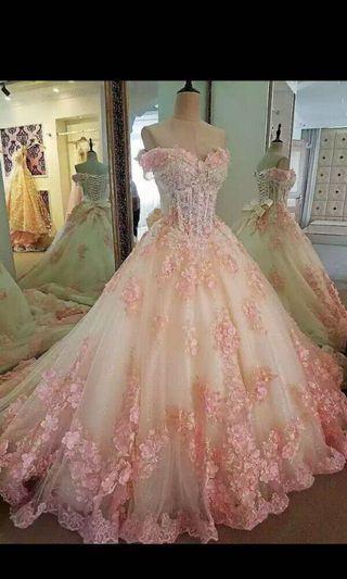WEDDING/RECEPTION/BIRTHDAY GOWN/DRESS
