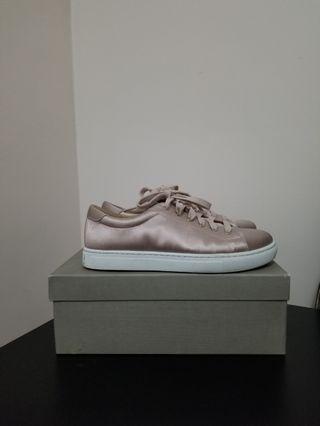 Club Monaco Pink Satin Sneakers (size 6)