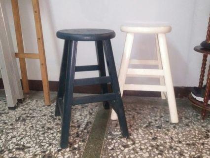 台灣早期實木椅凳