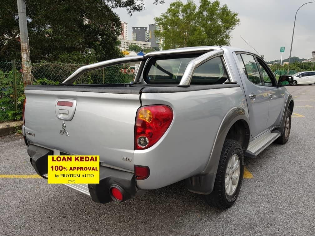 2011 Mitsubishi TRITON 4W 2.5 (M) Muka 2K Loan Kedai