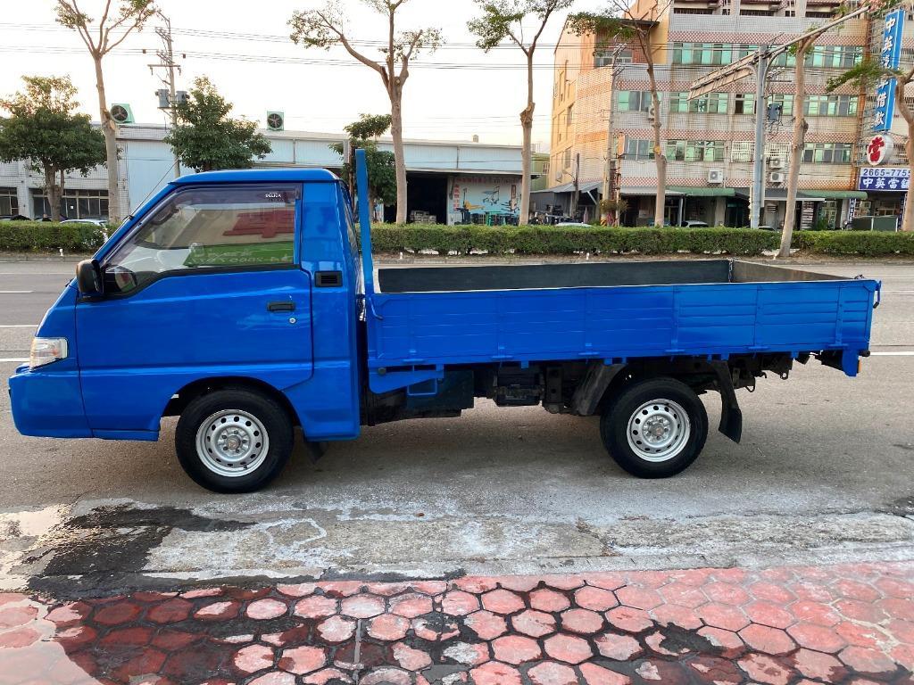 七代發財貨車 2014 順益 得利卡 2.4 藍 MITSUBISHI  DELICA