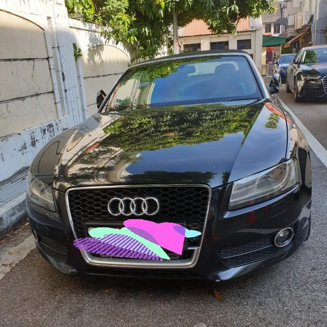 Audi A5 cabriolet for rent