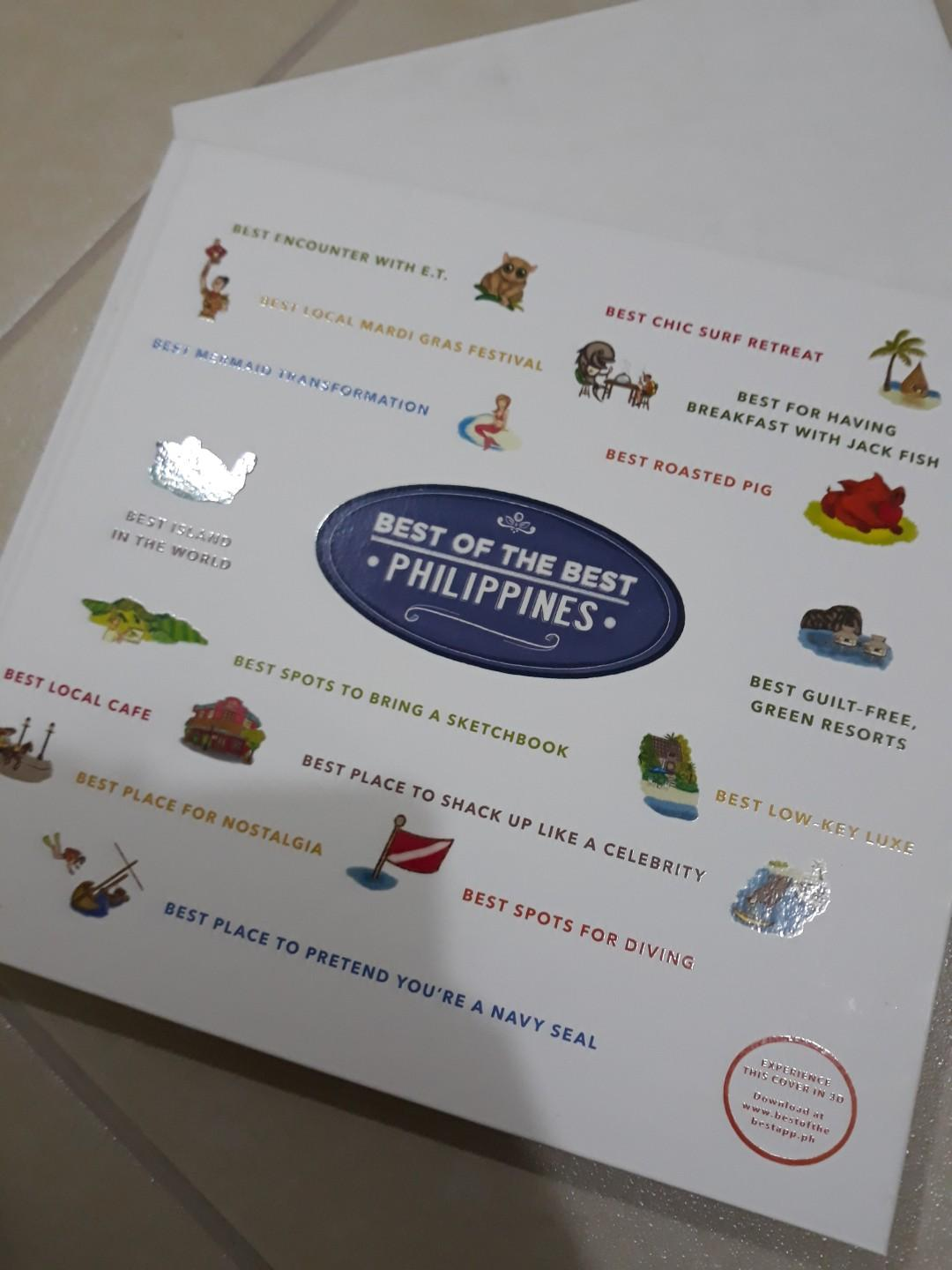 Best of the philippines hardbound coffee table travel tourist book