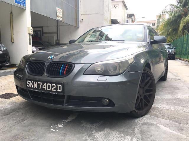 Whatsapp 88567422. BMW 523i Available for Grab. Whampoa