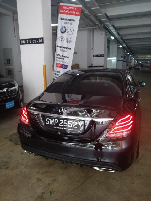 Brand new Mercedes C200 for rent