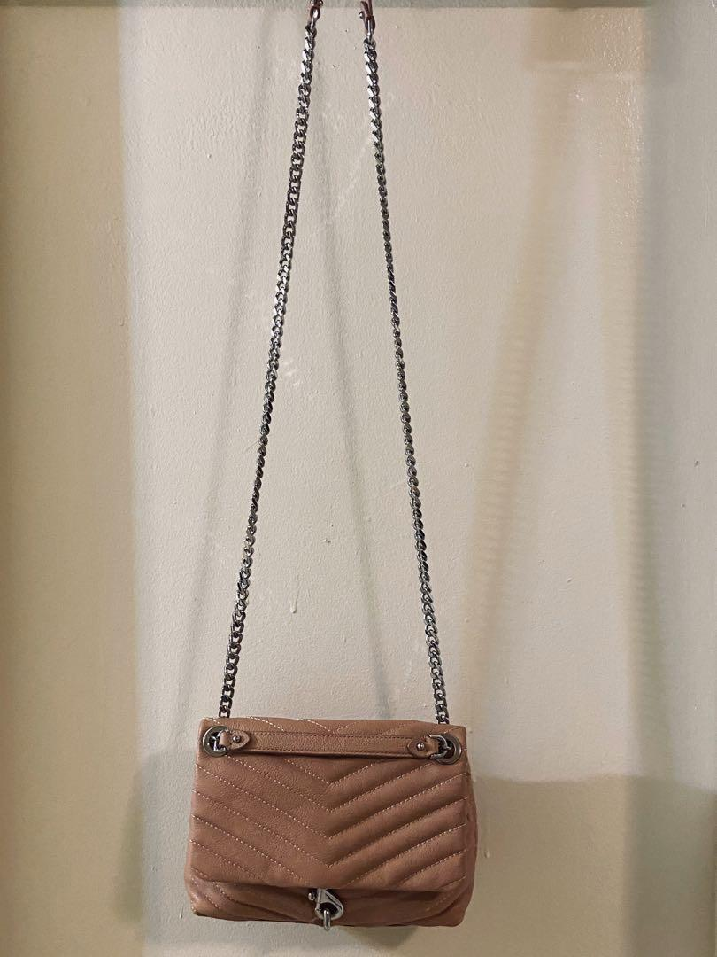 Brand New REBECCA MINKOFF Edie Quilted Leather Bag