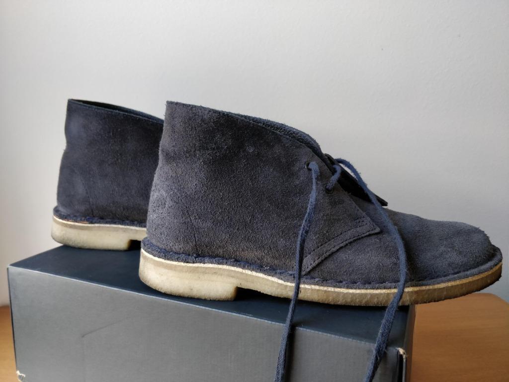 Clarks Originals Desert Boot - Ink Suede - UK 5.5 / EUR 39