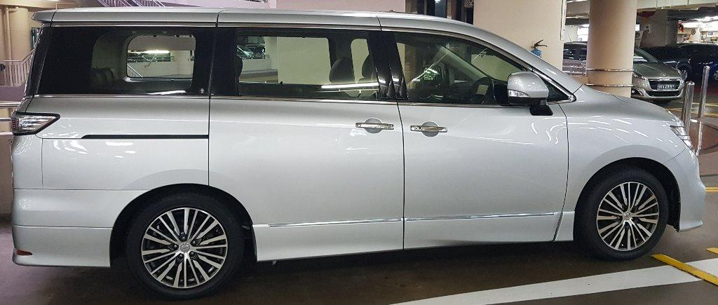 Drive in style and comfort with big MPV Nissan Elgrand! Special Promotion!