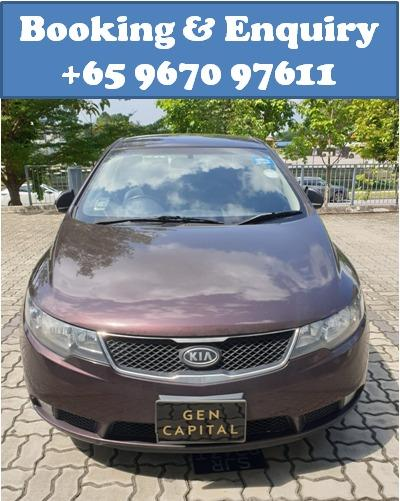 Kia Cerato Forte @ Way more affordable rates to Grab Rentals! Only $500 deposit!