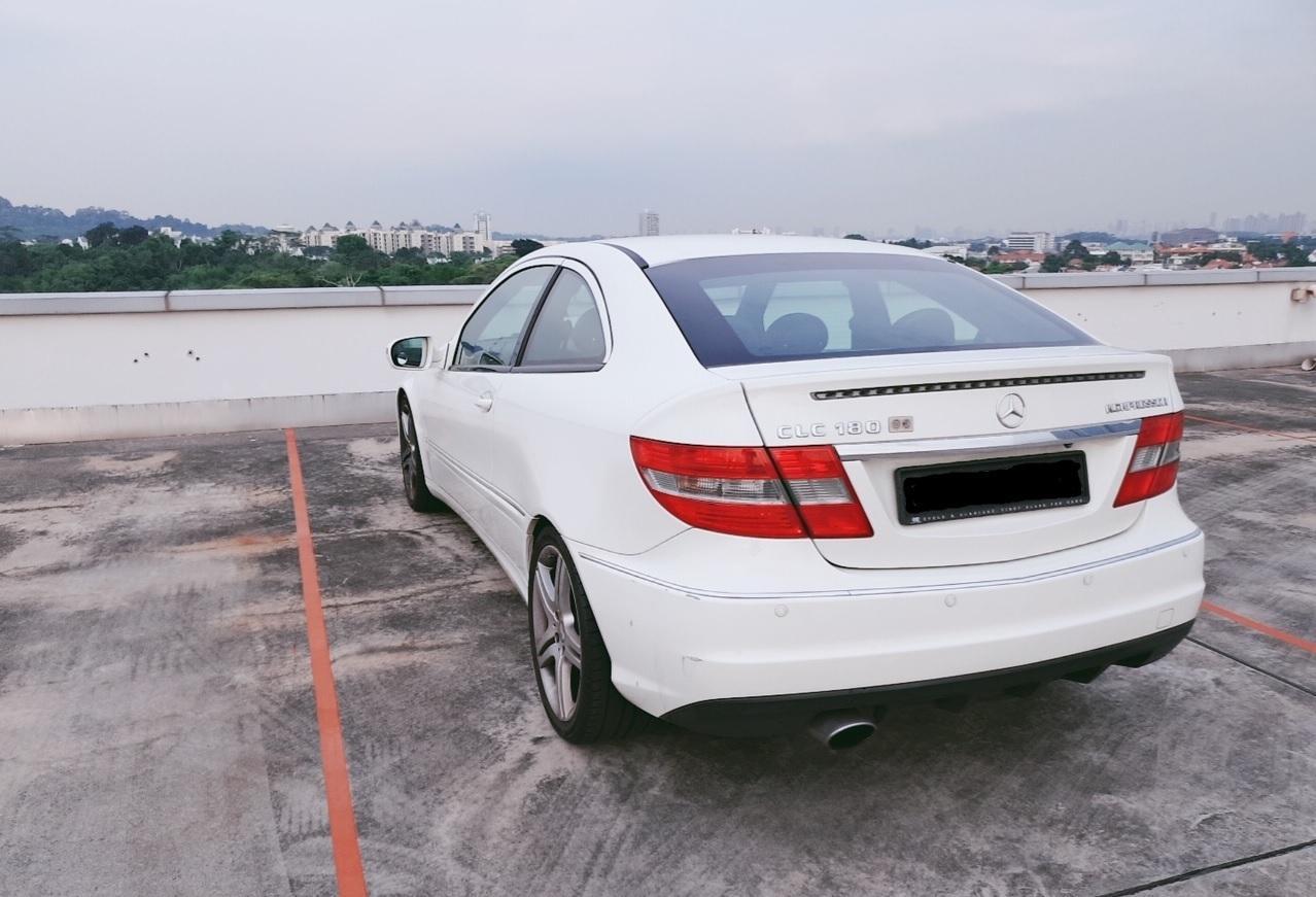 Mercedes Benz CLC 180K