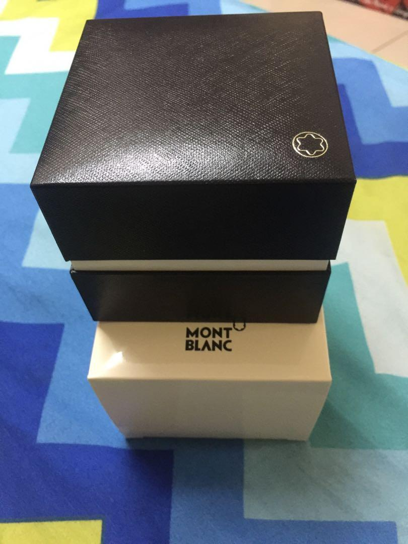 Mont Blanc Bangle Box (Authentic Bangle Box with Jewellery/Beauty Certificate Booklet)