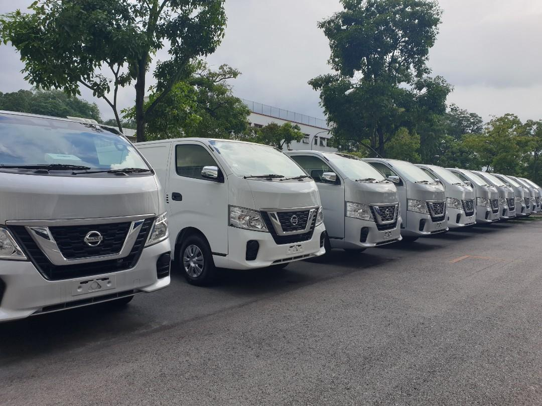 New Nissan NV350 Manual/Auto  for Lease