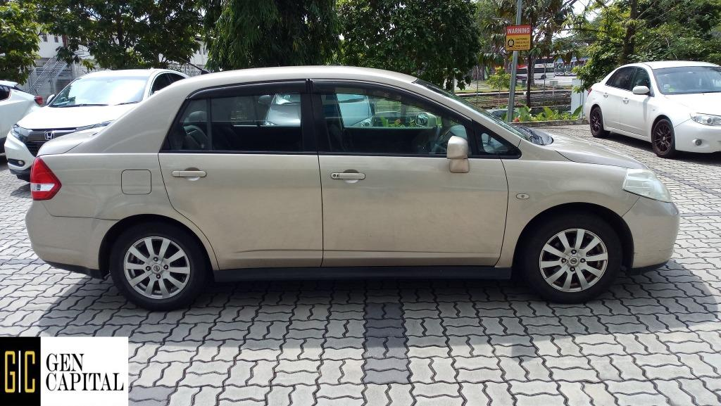 Nissan Latio @ Way more affordable rates to Grab Rentals! Only $500 deposit!