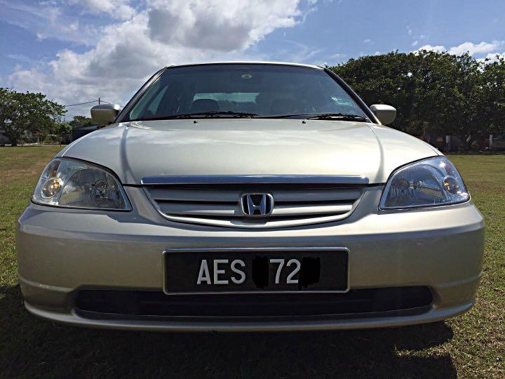 One Owner HONDA CIVIC i -Vtec 1.7(A) yr2003 Call:0174022998 TQ