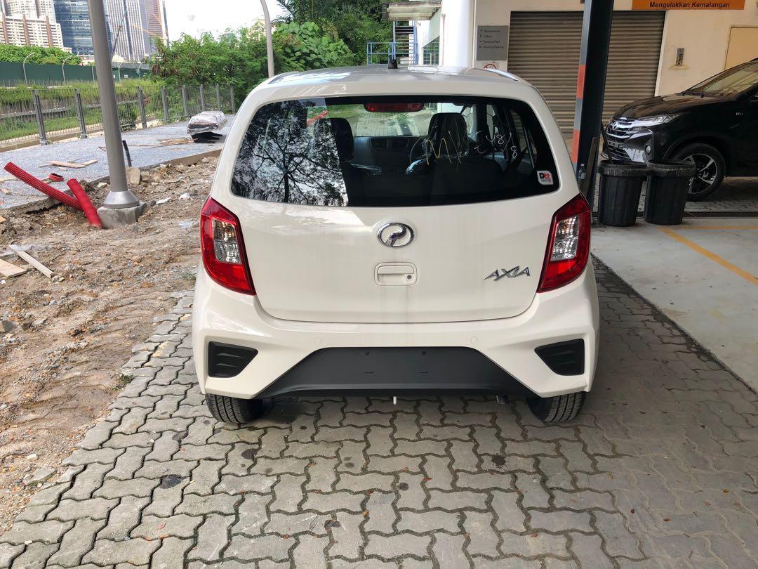 2019 Perodua Axia 1.0 E (M) Ivory White Maximum Loan