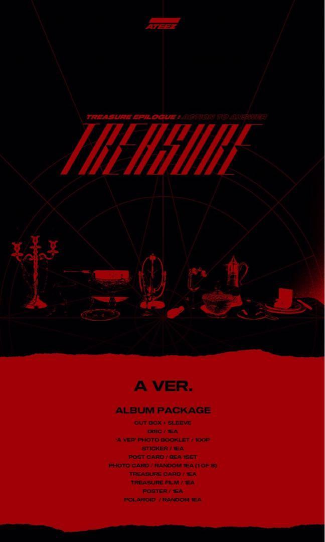 [PREORDER] ATEEZ 4th Mini Album - TREASURE EPILOGUE : ACTION TO ANSWER
