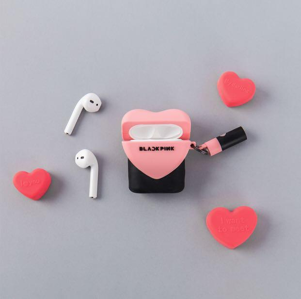 [PREORDER] BLACKPINK OFFICIAL MD-  AIRPODS SILICONE CASE