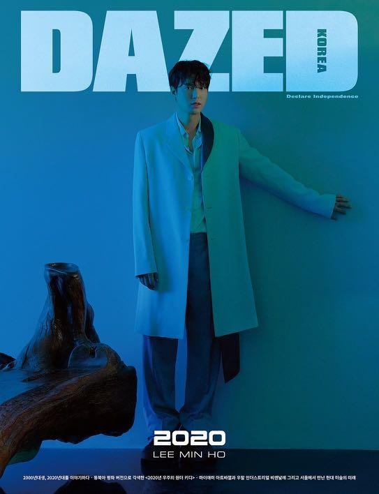 [PREORDER] DAZED January Issue 2019 - Cover LEE MIN HO