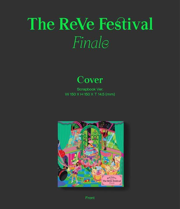[PREORDER] RED VELVET REPACKAGE ALBUM - THE REVE FESTIVAL 'FINALE'