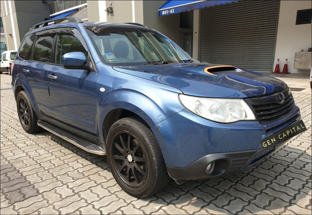 Subaru Forester @ Way more affordable rates to Grab Rentals! Only $500 deposit!