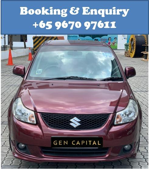 Suzuki SX4 @ Way more affordable rates to Grab Rentals! Only $500 deposit!