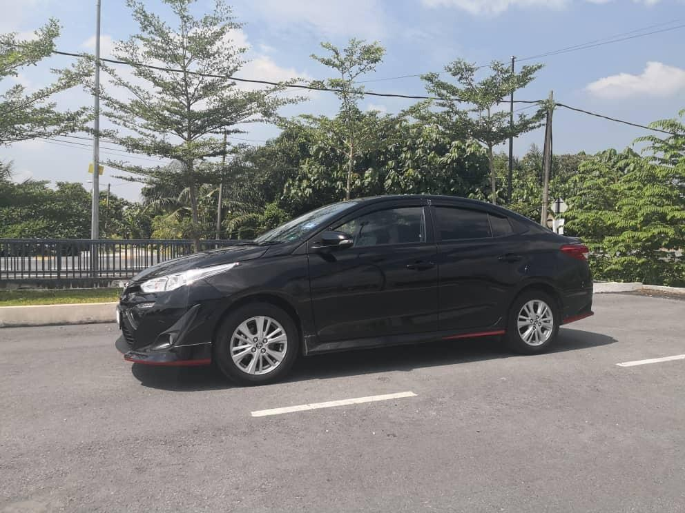 Toyota Vios 2019 1.5 E (A) Kereta Sewa Selangor KL
